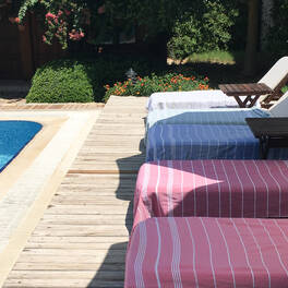 fouta - <br>taille standard (170x100 cm)