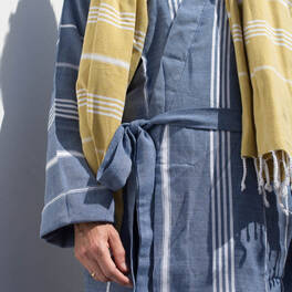 hammam towel bathrobe<br>size M