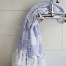 hammam towel<br>with terry cloth, small (90x48 cm)