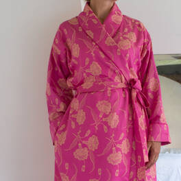 elegant dressing gown<br>Ottoman Damask collection