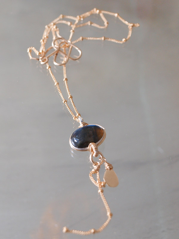 necklace Eye labradorite