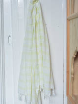 hammam towel - pareo lime