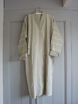 hammam bathrobe size M, light green