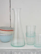 small carafe/vase with small spout, 20 cm
