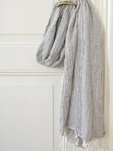 hammam towel double layered dark grey