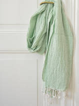 hammam towel double layered pistachio