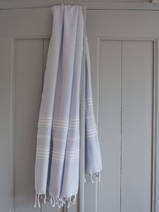hammam towel light blue