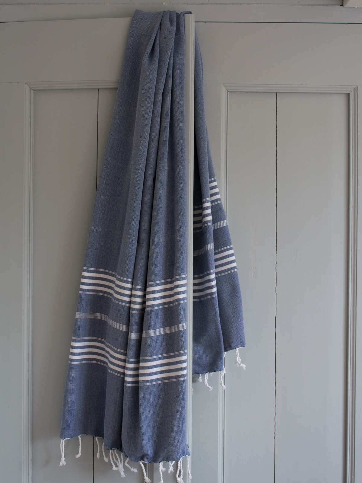 hammam towel navy blue