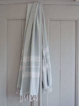 hammam towel sea green