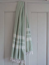 hammam towel grey-green