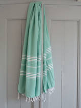 hammam towel dark sea green