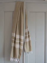 hammam towel olive green