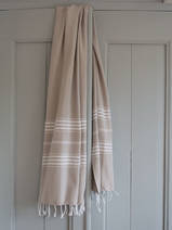 hammam towel grey-beige