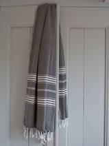 hammam towel black