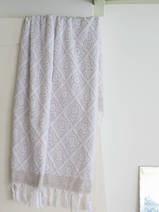 towel grey-beige