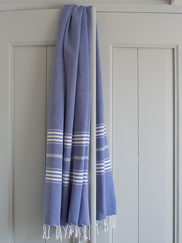 hammam towel parliament blue