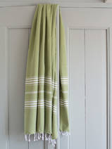 hammam towel moss green