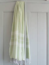 hammam towel light green