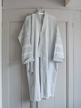 hammam bathrobe size M, sea green