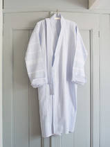 hammam bathrobe size M, light blue