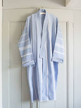 hammam bathrobe size M, blue