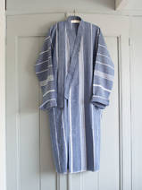 hammam bathrobe size M, navy blue