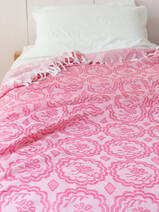 summer blanket fuchsia