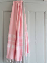 hammam towel powder pink