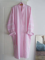 hammam bathrobe size M, pink