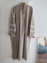 hammam bathrobe size M, olive green