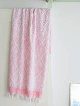 towel candy pink