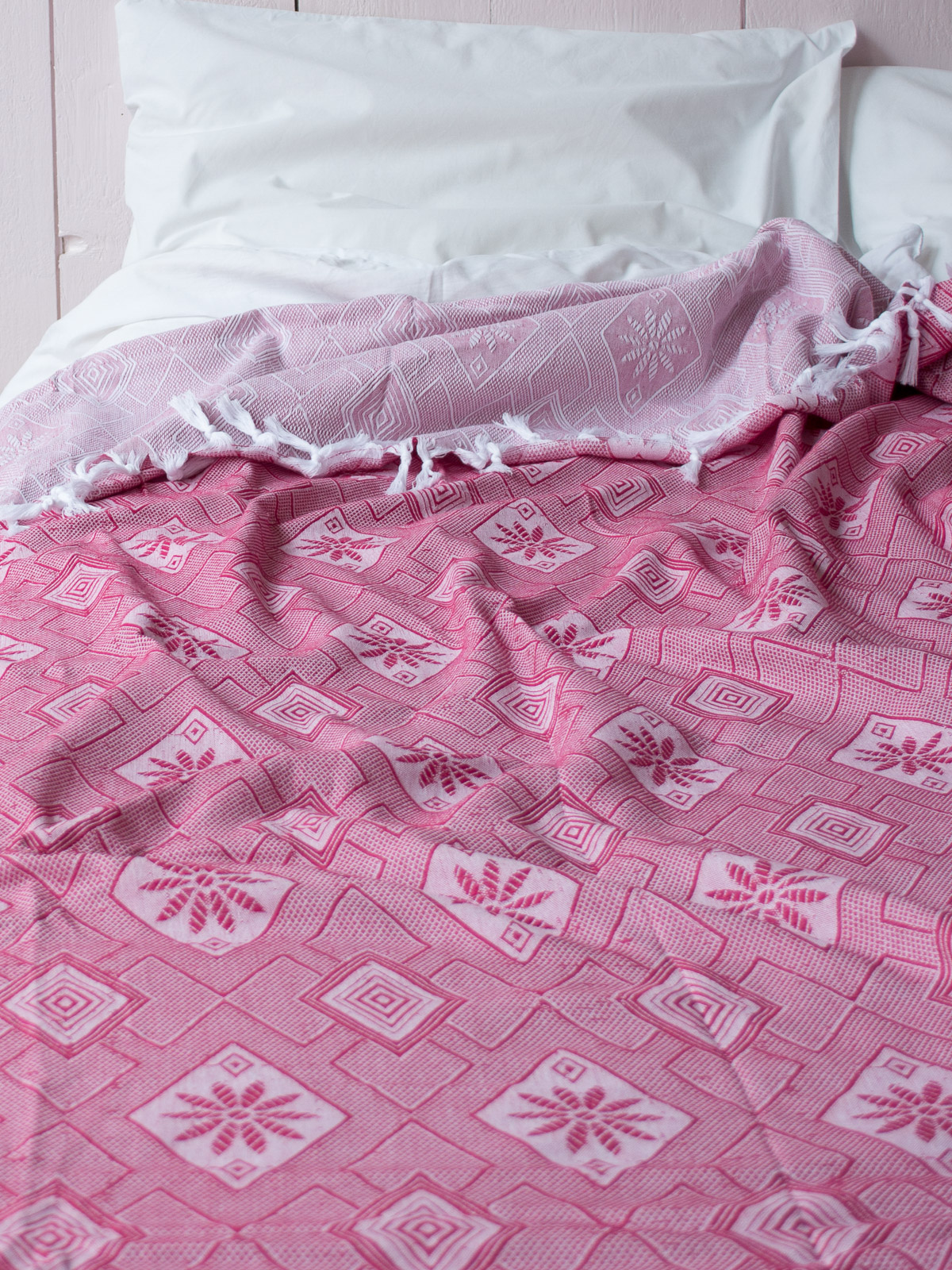 summer blanket cerise