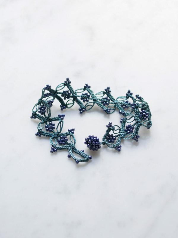 Crocheted Bracelet Garland Crochet Bracelets Jewellery
