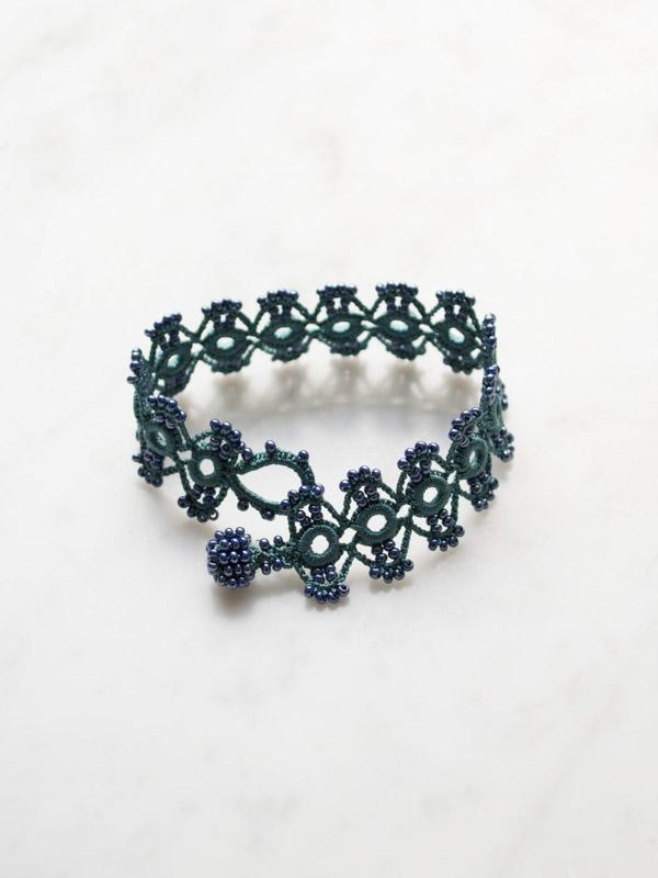 Crocheted Bracelet Marguerite Crochet Bracelets Jewellery