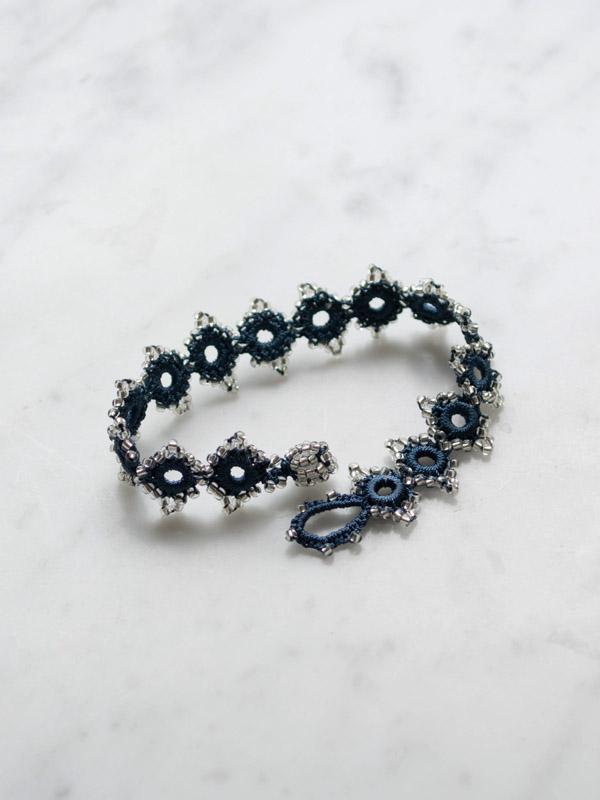 Crocheted Bracelet Daisy Crochet Bracelets Jewellery Ottomania