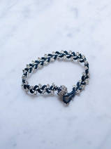 crocheted bracelet Twigs
