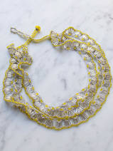 collier en crochet Lucent