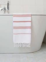 hammam towel white/copper