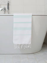 hammam towel white/mint
