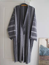 hammam bathrobe size M, black
