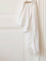 hammam towel double layered white