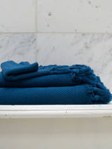 towel Baklava indigo, set