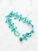 crocheted bracelet Garland