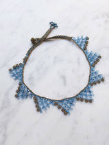 collier en crochet Oya