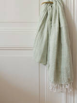 hammam towel double layered sage
