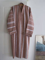 hammam bathrobe size M, brown