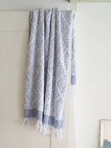 towel navy blue