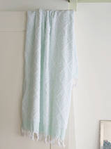 towel mint green