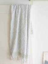 towel sage green