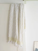 towel linden green